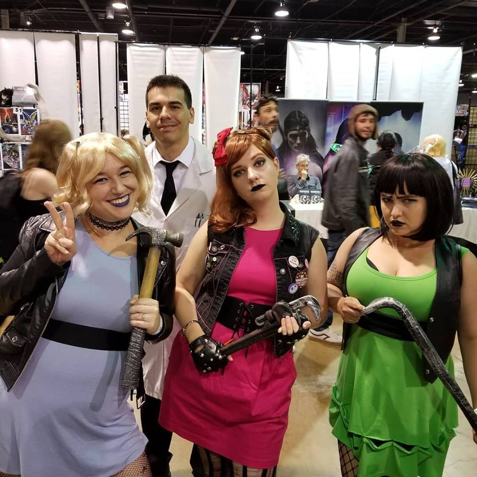 Channel Awesome as the Power Puff Girls