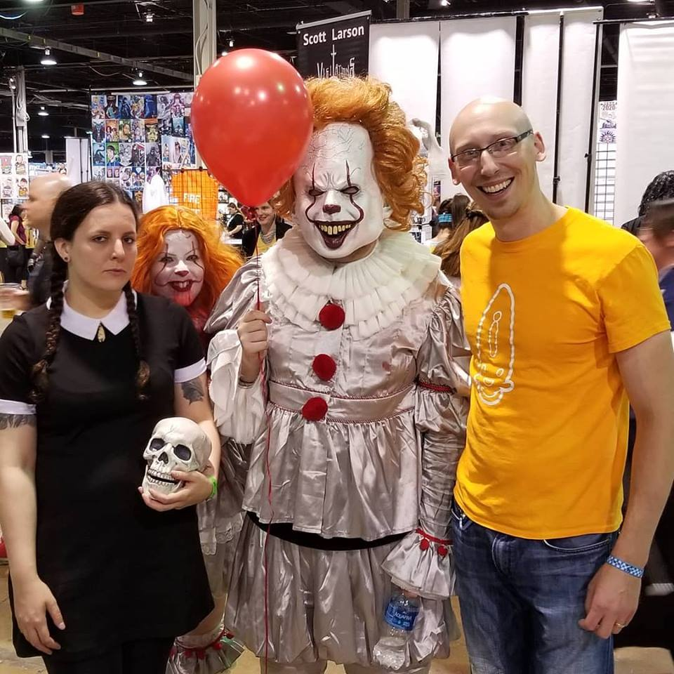 More great cosplay friends from the day