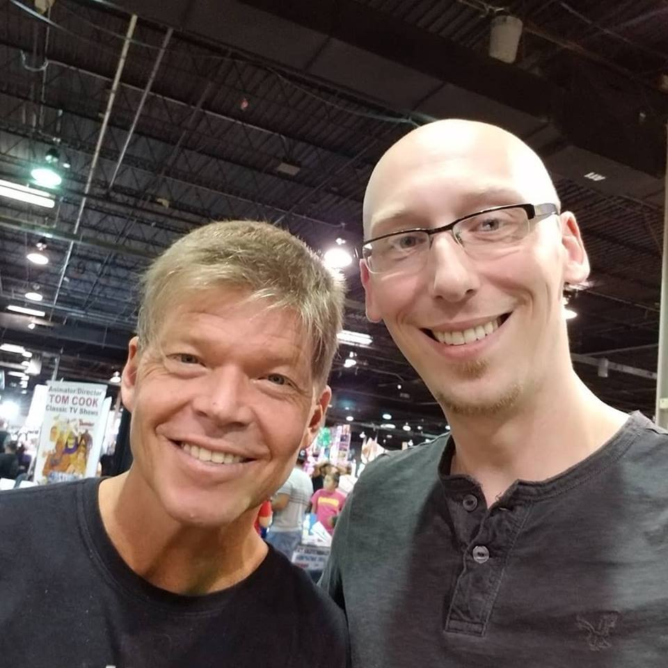 Rob Liefeld was behind me all weekend. Such a great guy